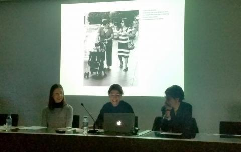 Día 22 de noviembre de 2019. Tercera sesión del seminario en Sevilla. Intervienen: Mar García Ranedo y Cristiana Gasparotto