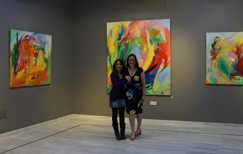 Ana Cremades y Antonia Blanco