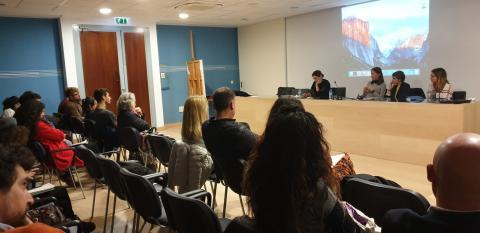 Día 22 de noviembre de 2019. Tercera sesión del seminario en Sevilla