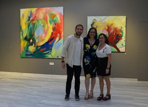 Julio, Antonia Blanco e Isa Melero