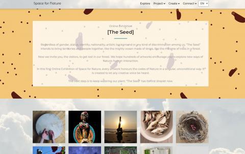 Exposición online La semilla
