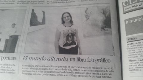 Artículo en el Diario Jaén
