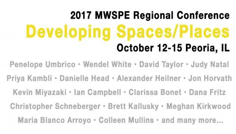 Developing Spaces/Places