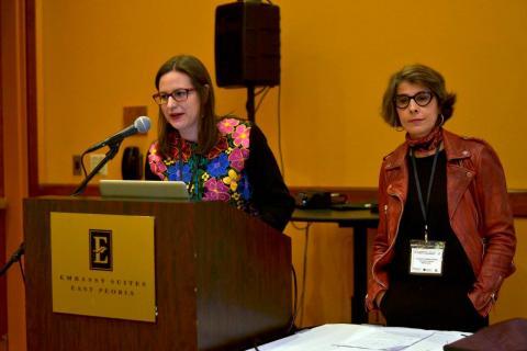 Conferencia impartida en Peoria, Illinois
