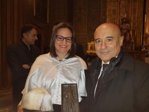 Ceremonia del Premio Extraordinario de Doctorado concedido por la Universidad de Sevilla