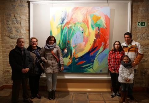 """Exposición colectiva """"XXXI Premio de Pintura Emilio Ollero 2017"""""""