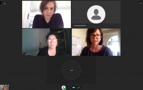 Sesión de debate junto a Andreas Giunta, Marissa Vigneault y Lynda Avendaño