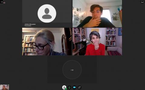 Sesión de debate junto a Marta de la Rocha y Mónica Carabias