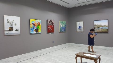 """""""Delirio sobre el Guadalquivir"""" expuesta en el Exmo. Ateneo de Sevilla"""