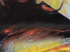 """""""Sobre el paisaje #53"""", ceras sobre fotografía, 20 x 15 cm, 2009"""