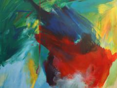 """Tropicalia"", acrílico sobre tabla, 170 x 190 cm, 2009"
