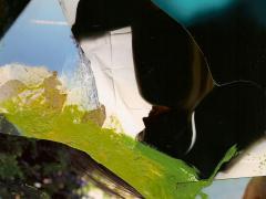 """""""Sobre el paisaje #5"""", collage fotográfico, 19 x 15 cm, 2010"""