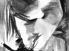 """""""#1"""", serie """"Espacios imaginados"""", grafito sobre papel, 29 x 20 cm, 2008"""