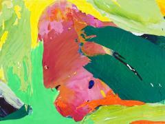 """""""#27"""", serie """"Mundos de papel"""", pintura sobre tela montada en bastidor, 2017"""