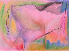 """#9"", serie ""Diario 23"", lápiz de color sobre papel. 16 x 22 cm, 2020"