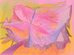 """#29"", serie ""Diario 23"", lápiz de color sobre papel. 16 x 22 cm, 2020"