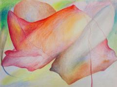 """""""#28"""", serie """"Sensualidades"""", lápiz de color sobre papel, 24 x 34 cm, 2011"""