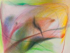 """""""#18"""", serie """"Sensualidades"""", lápiz de color sobre papel, 24 x 34 cm, 2011"""