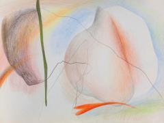 """""""#17"""", serie """"Sensualidades"""", lápiz de color sobre papel, 24 x 34 cm, 2011"""